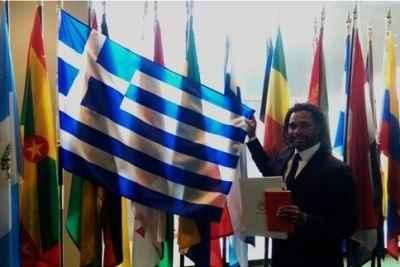 Ο Κριστιάν Καρεμπέ εκπρόσωπος του Ολυμπιακού στον ΟΗΕ