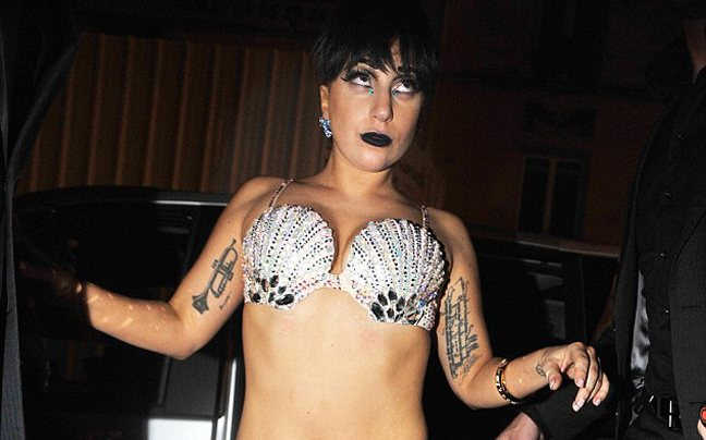 Πάντα εκκεντρική η Lady Gaga
