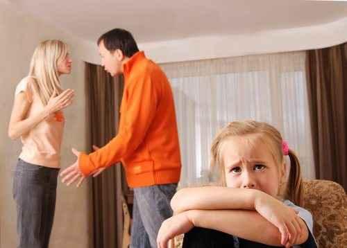 Πώς οι καυγάδες επηρεάζουν τα παιδιά