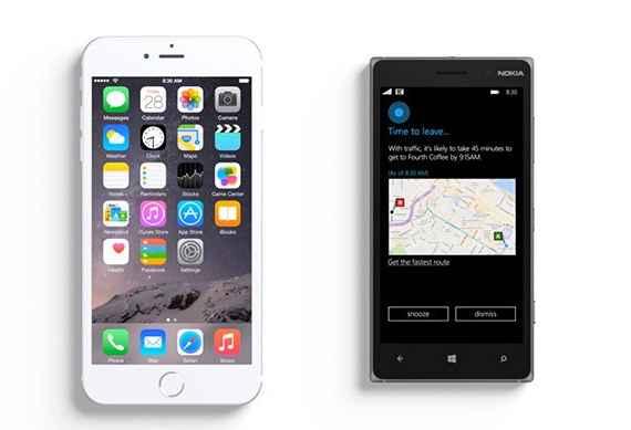 H Cortana προκαλεί τη Siri στο νέο promo της Microsoft