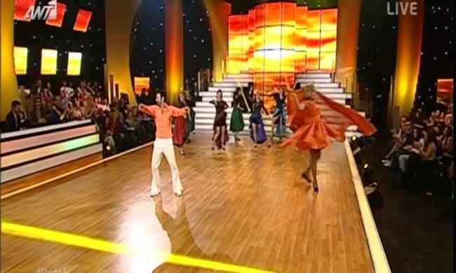 «Άρωμα» ελληνικού κινηματογράφου στο 6ο live του «Dancing»
