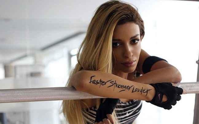 «Λιώνει» στη γυμναστική η Ελένη Φουρέιρα
