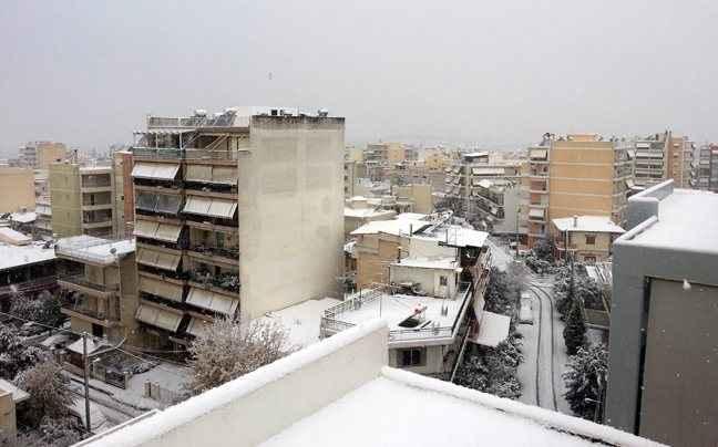 Έρχονται χιόνια και στην Αττική