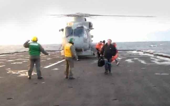 Βίντεο διάσωσης επιβατών του Norman Atlantic