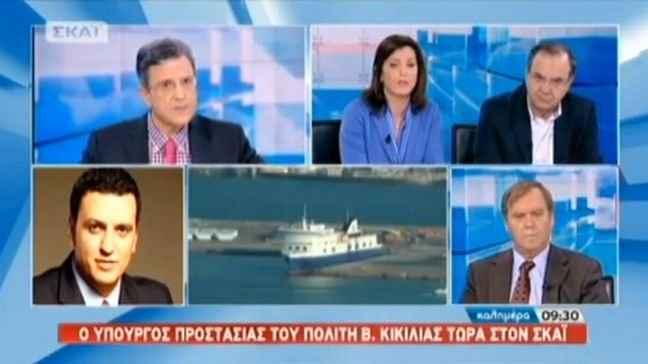 Η Μισέλ Ασημακοπούλου έμαθε σε πάνελ πως υπάρχουν δικοί της άνθρωποι στο πλοίο