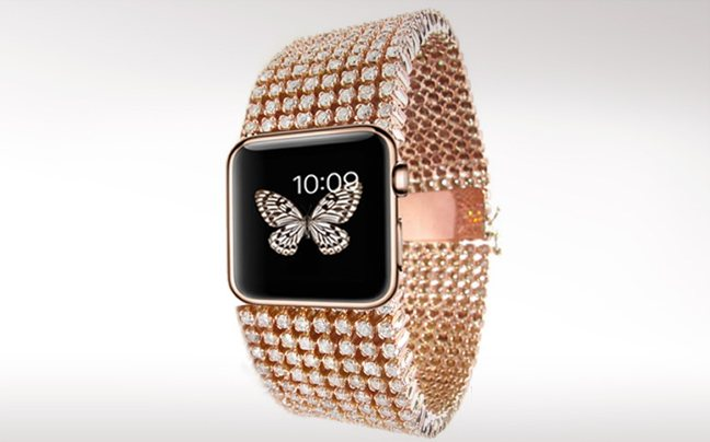 Η διαμαντένια εκδοχή του Apple Watch