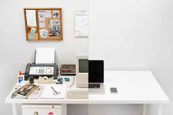 Η εξέλιξη του γραφείου από το 1981 μέχρι σήμερα παράλληλα με τους υπολογιστές