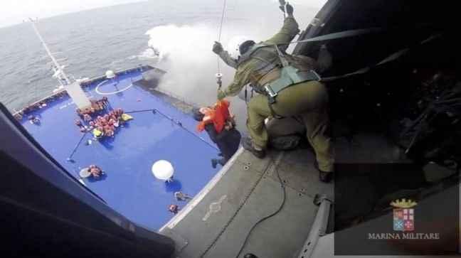 Στους 251 ανέβηκαν οι διασωθέντες στο Norman Atlantic