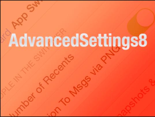 AdvancedSettings8: Αποκτήστε πρόσβαση στις κρυφές ρυθμίσεις του iOS 8