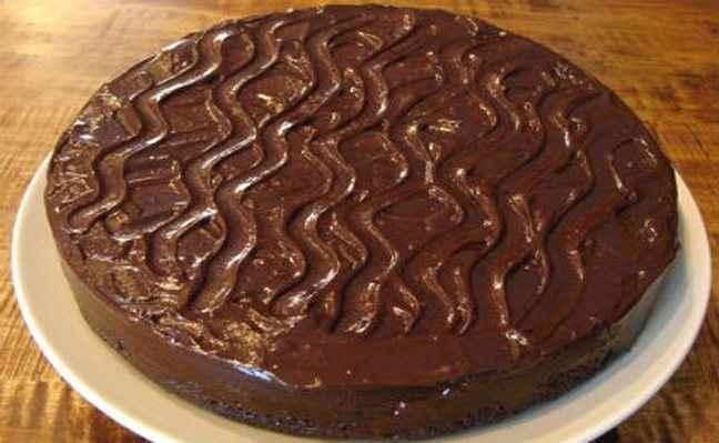 Βασιλόπιτα με επικάλυψη σοκολάτας