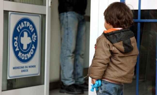 Δωρεάν παιδιατρικές εξετάσεις από τους Γιατρούς του Κόσμου