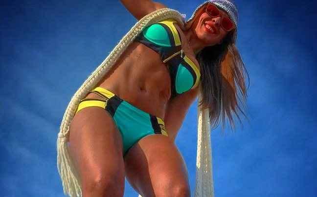 Η Χριστίνα Πάζιου και οι ασκήσεις για τέλειο σώμα