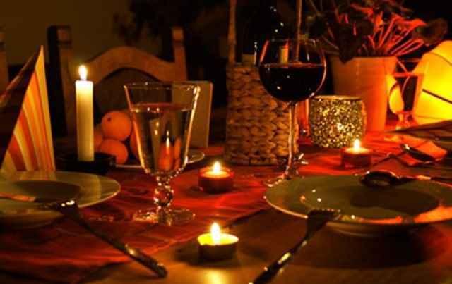 Καλά για την καρδιά τα δείπνα με κεριά