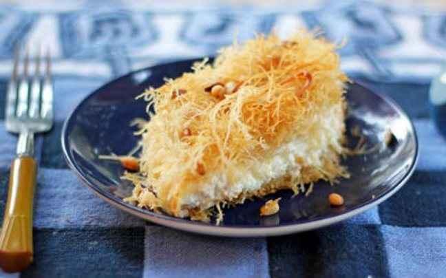 Μικρασιάτικο καταΐφι με τυρί