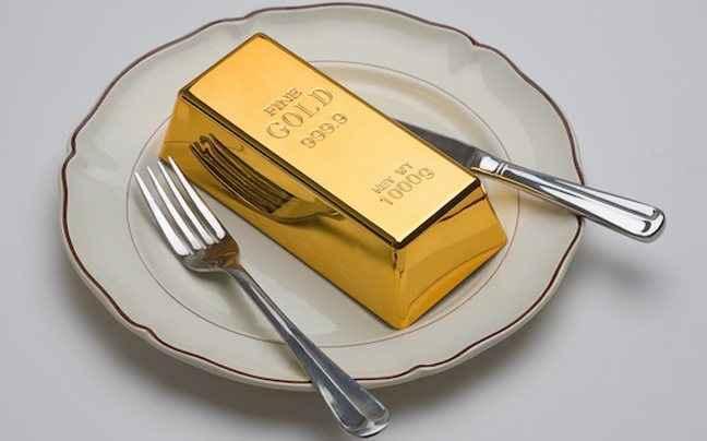 Μοναδικά καταναλωτικά προϊόντα από... χρυσάφι!