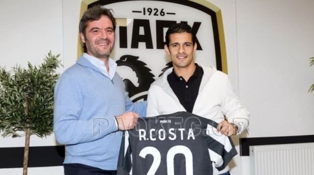 Στον ΠΑΟΚ και επίσημα ο Ρικάρντο Κόστα