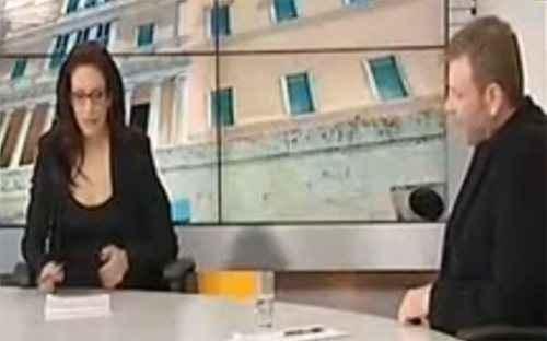 Το φλερτ του Γλέτσου σε παρουσιάστρια on air