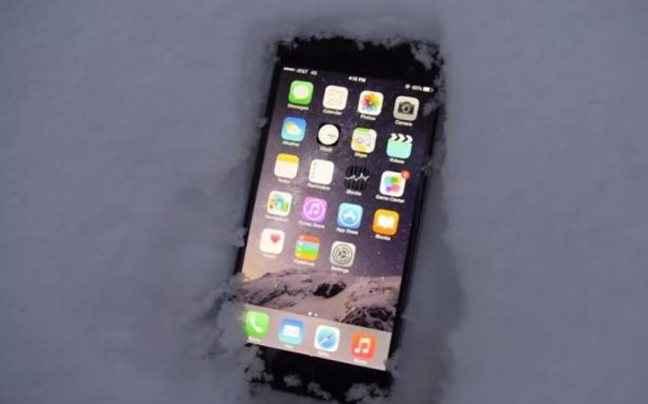 Το iPhone 6 Plus δοκιμάζεται στο χιόνι
