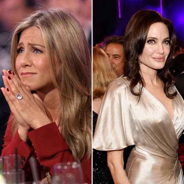 Aniston – Jolie Στο ίδιο δωμάτιο μετά από 6 χρόνια!Τα δάκρυα της Jennifer & ο άφαντος Pitt