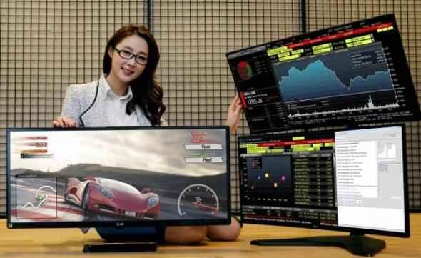 "LG UltraWide Gaming Monitor με κυρτή οθόνη 34"" 4K και τεχνολογία FreeSync"