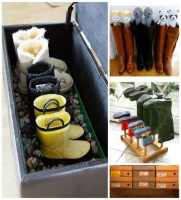 Πώς να αποθηκεύσεις τις μπότες σου χωρίς να χάσουν το σχήμα τους;