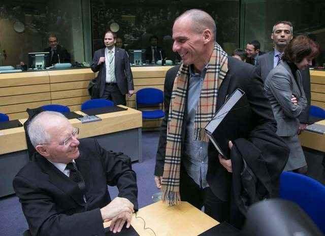 Σταρ του Eurogroup ο Γιάννης Βαρουφάκης