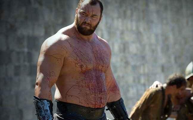 Το «βουνό» του Game of Thrones σήκωσε κορμό 650 κιλών