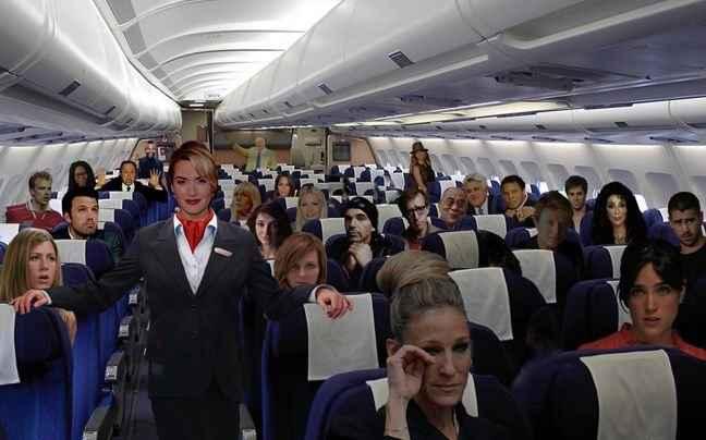Οι διάσημοι που τρέμουν τα αεροπλάνα