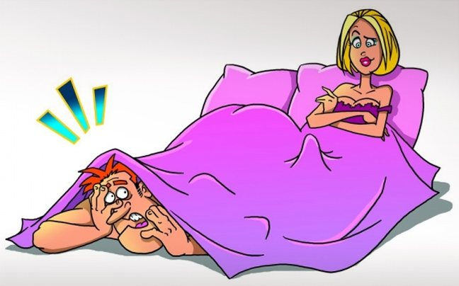 5 λάθη που κάνουν οι άντρες στο κρεβάτι
