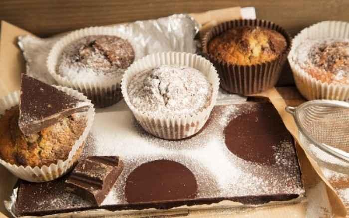 Συνταγή για κεκάκια σοκολάτας με κινόα χωρίς γλουτένη