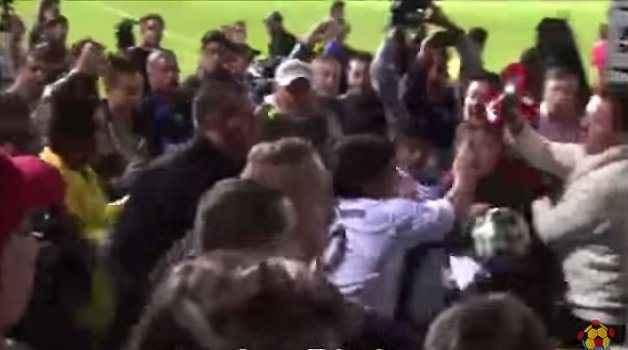 Επίθεση Μαραντόνα σε θεατές μετά από φιλανθρωπικό αγώνα