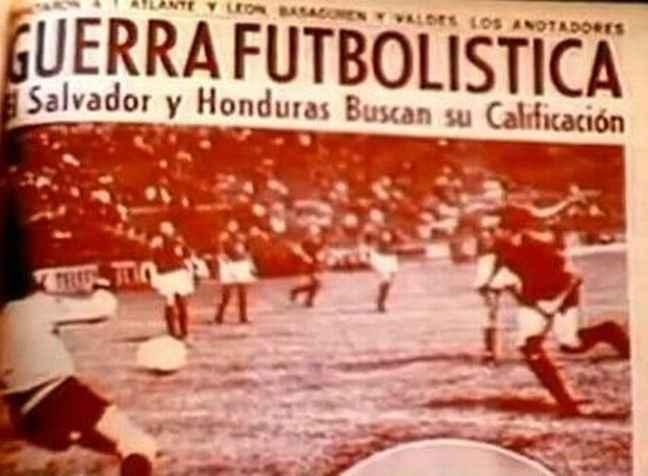 Ο «Πόλεμος του Ποδοσφαίρου» μεταξύ Ελ Σαλβαδόρ και Ονδούρας