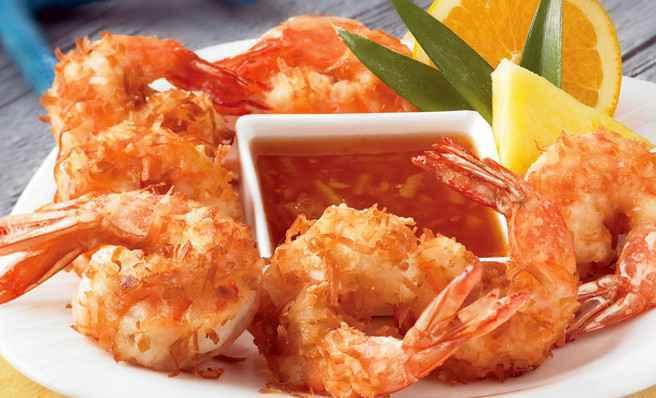 Γαρίδες tempura
