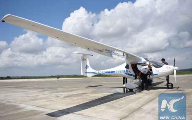 Ηλεκτρικό αεροσκάφος κατασκεύασε η Κίνα