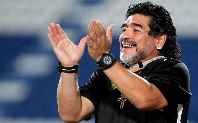 Μαραντόνα για αντιπρόεδρος της FIFA