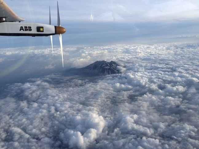 Στην Ιαπωνία προσγειώθηκε εκτάκτως το Solar Impulse