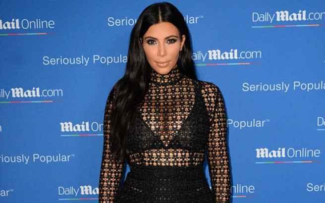 Το φόρεμα-σεμεδάκι της Kim Kardashian