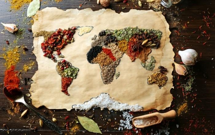 Ο παγκόσμιος χάρτης της σωστής διατροφής (εικόνα)