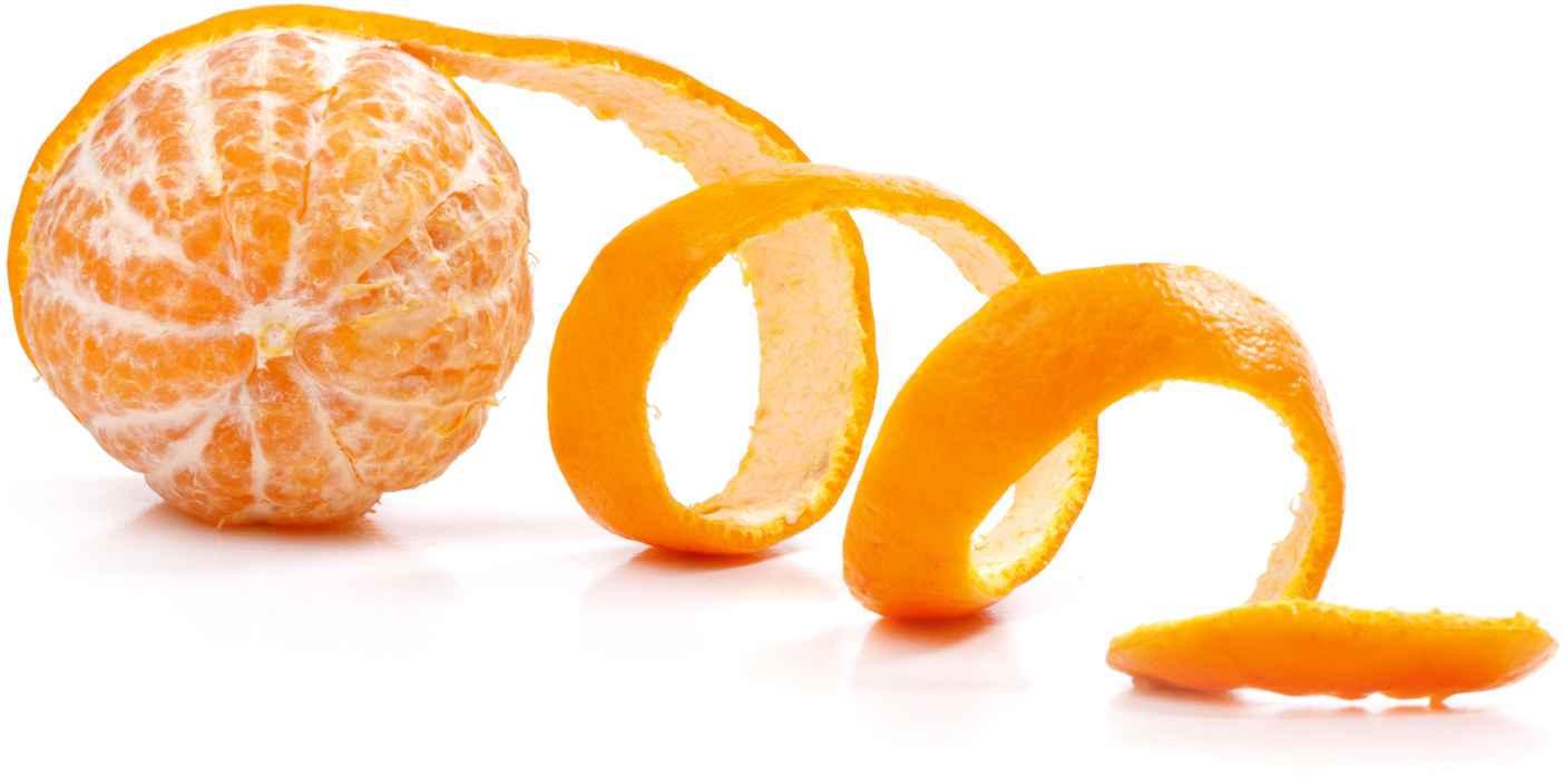 Φλούδα πορτοκαλιού για λαμπερό δέρμα