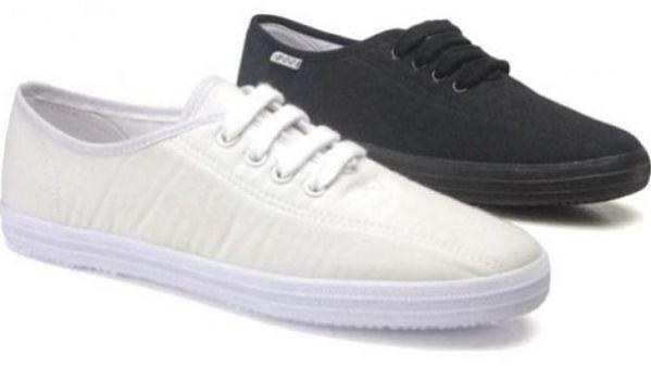 Αυτό είναι το μυστικό για να καθαρίσετε τα πάνινα παπούτσια και τις εσπαντρίγιες σας!
