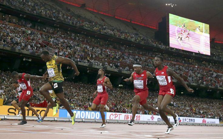 Παραμένει «βασιλιάς» στα 100 μέτρα ο Μπολτ