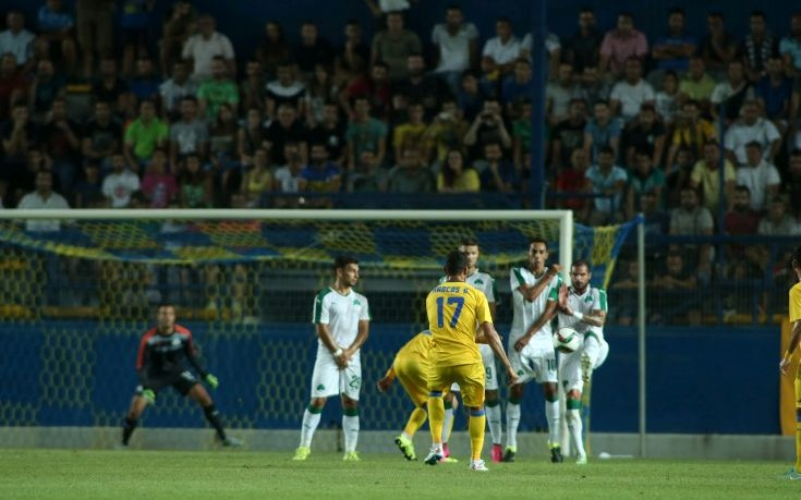 Νίκη με 2-1 για Παναθηναϊκό στο Αγρίνιο