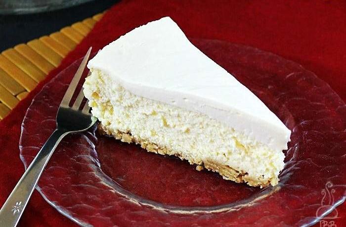 Κέικ λεμόνι με επικάλυψη κρέμας