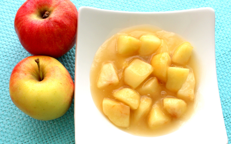 Κομπόστα μήλο