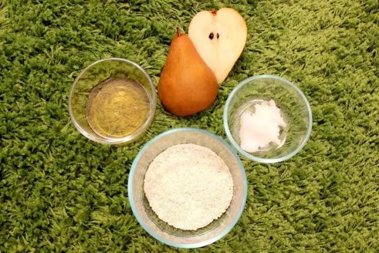 Μάσκα προσώπου με αχλάδι και μέλι