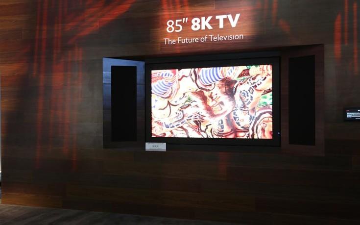 Την πρώτη τηλεόραση με υπερ-υψηλή ανάλυση 8Κ ετοιμάζει η Sharp