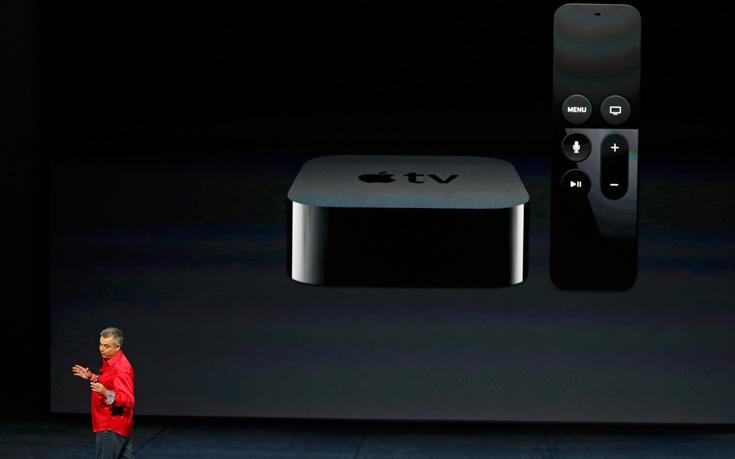 Το νέο Apple TV φέρνει τη «Siri» στο σαλόνι μας