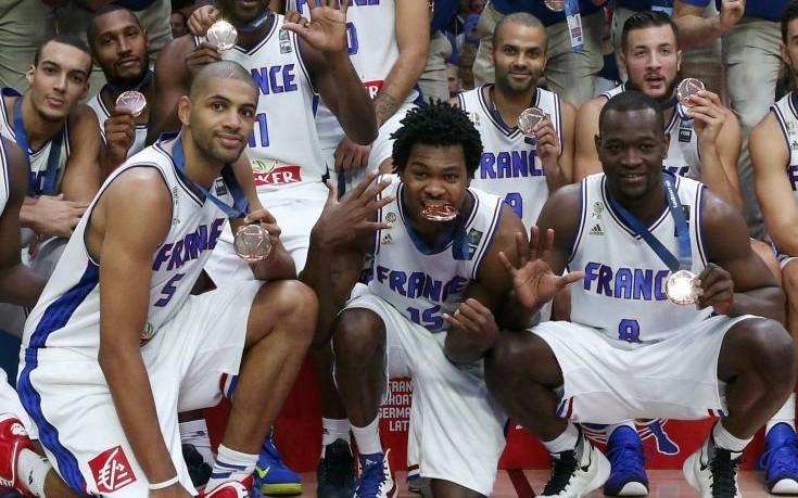 Χάλκινη η Γαλλία στο Ευρωμπάσκετ