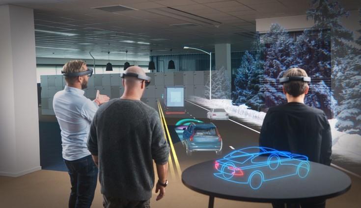 Ο πρώτος ασύρματος ολογραφικός υπολογιστής αξιοποιείται στην αυτοκινητοβιομηχανία