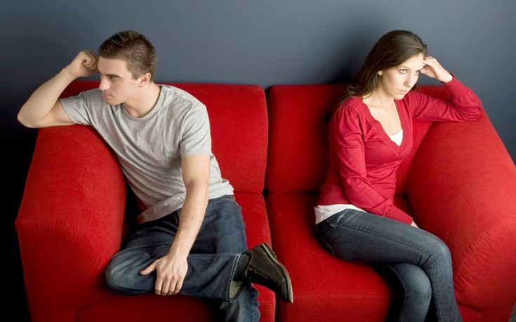 Τα πέντε στάδια του χωρισμού για τους άντρες